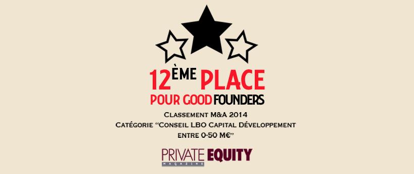Classement Private Equity Magazine 2014