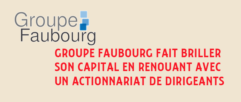 OBO sponsorless groupe faubourg